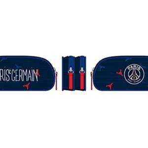 1 Trousse FOURRE-TOUT 2 compartiments PSG - 23x10cm 1